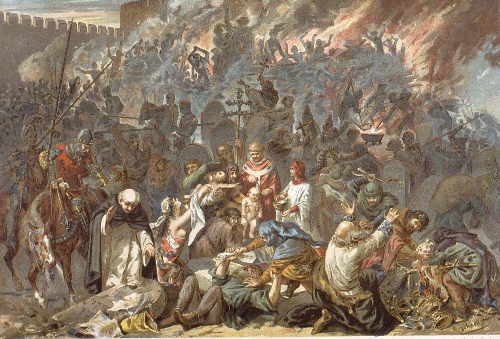Strasbourg massacre started