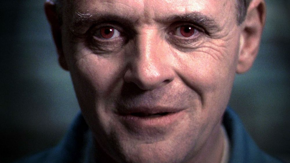 We saw Dr. Hannibal Lecter on the screen for the first time