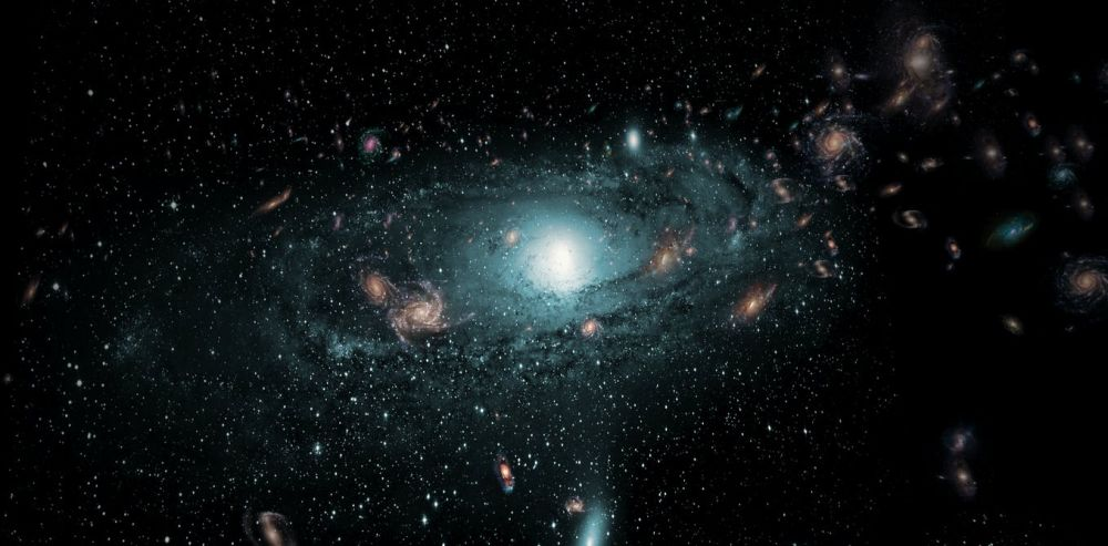 Our galaxy was made from other galaxies