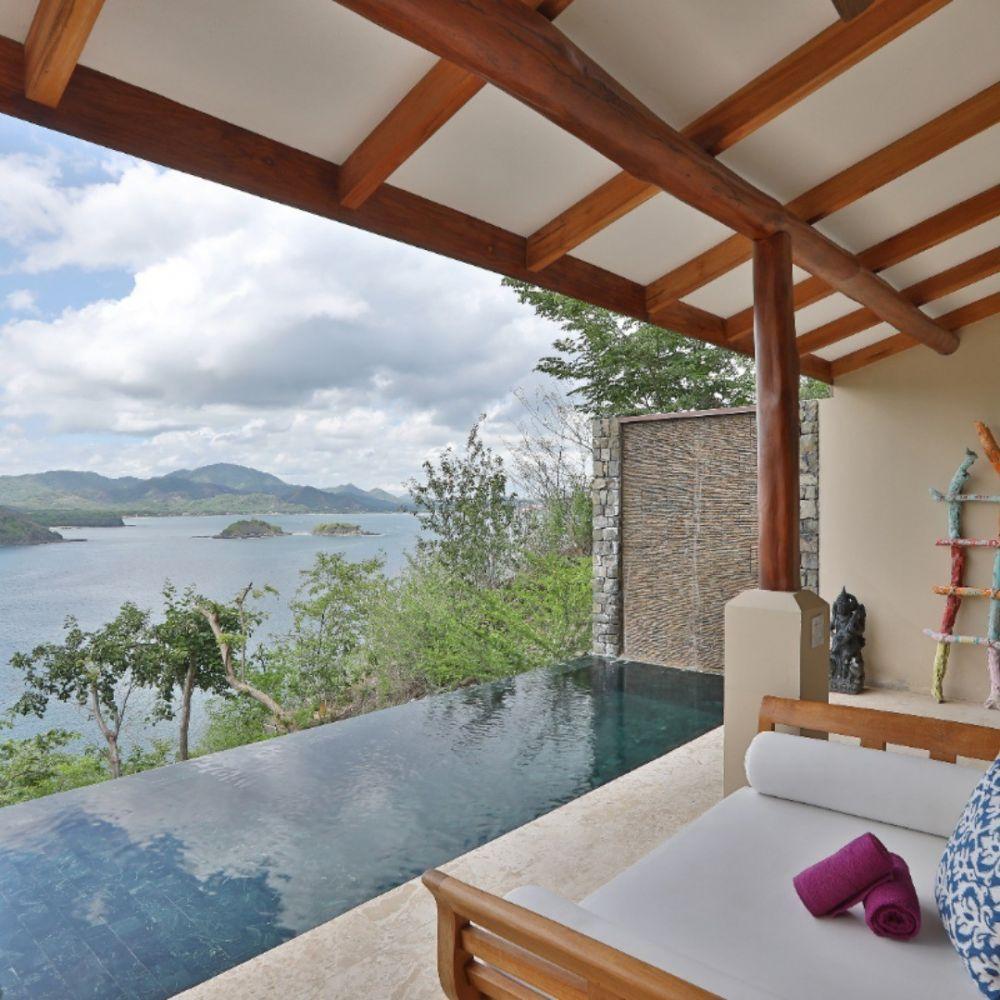 CASA CHAMELEON HOTEL, LAS CATALINAS / COSTA RICA