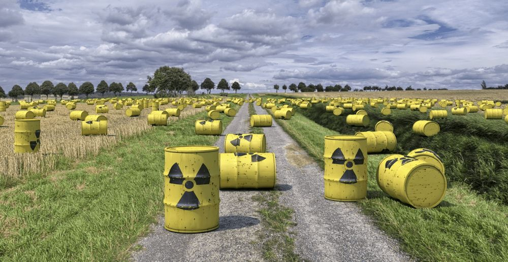 Nuclear energy produces a huge amount of waste and this can't be generated