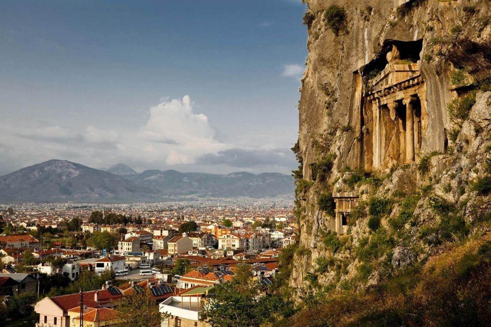 Selimiye Rock Graves