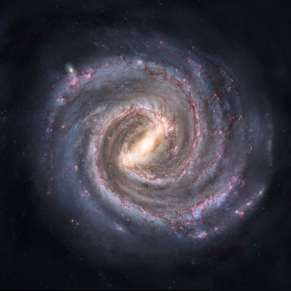 Our galaxy is on the move